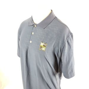 Nike Golf Mens Polo Shirt Sz Large S/S Stretchy
